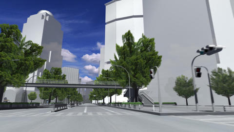 City 5A1 HD Stock Video Footage