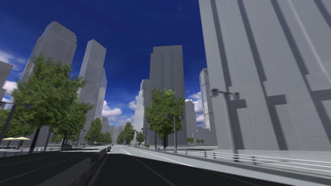 City 5B HD Animation
