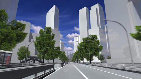 City 5C HD Stock Video Footage