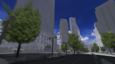City 5F HD Stock Video Footage