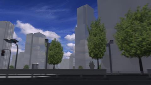 City 5J2 HD Stock Video Footage