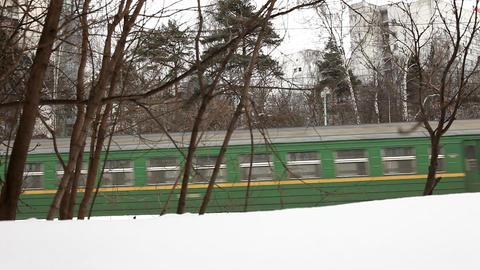 2171 Train Arrive Station HD J96 Stock Video Footage