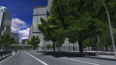 City 4A1 HD Stock Video Footage