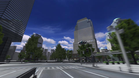 City 4B HD Stock Video Footage