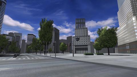 City 4E2 HD Stock Video Footage