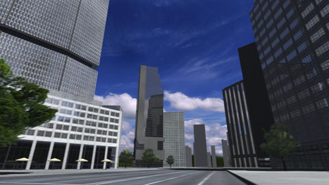 City 4i1 HD Stock Video Footage