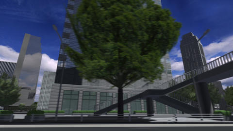 City 4i1 HD Animation