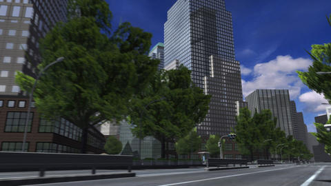 City 4J1 HD Stock Video Footage