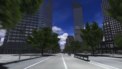 City 4K HD Stock Video Footage