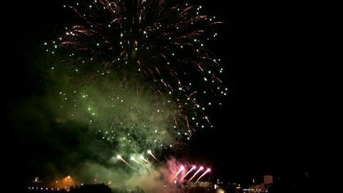 Fireworks show i1c Footage