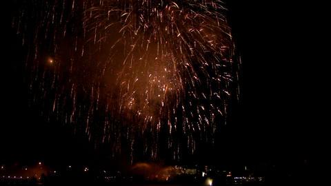 Fireworks show j1 Footage