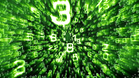 3D Mathematics 03 Stock Video Footage