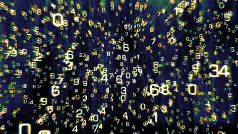 3D Mathematics 07 Stock Video Footage