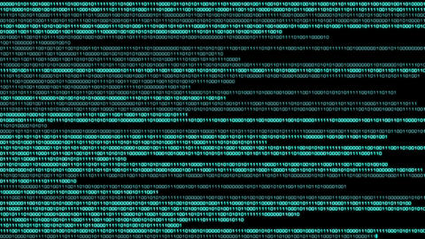 Binary World v2 05 Stock Video Footage