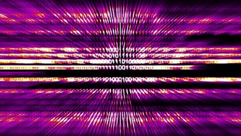 Binary World v3 04 Stock Video Footage