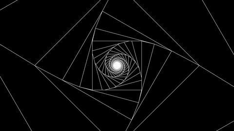 3 D cube a white 1 CG動画
