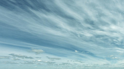Stratus and cumulus clouds in the heavenly timelap Footage