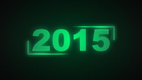 New Year 2015, Loop stock footage