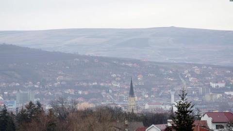 Romania Cluj 2 stock footage