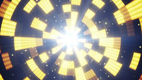 circular flashing segments loopable party backgrou Animation