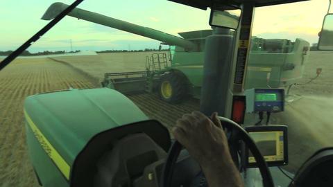 Combine Harvesting E Live Action