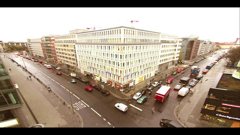 Dusk In Berlin stock footage