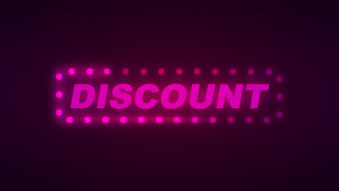 Discount animation, loopable Animation