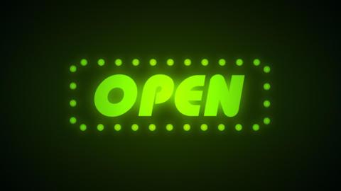 Open Animation, Loop stock footage