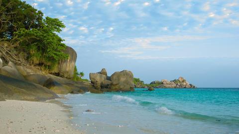 Similan Islands. Thailand. beach Footage