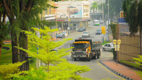 GEORGE TOWN. PENANG. MALAYSIA - 22 JUL 2014: Movem Footage