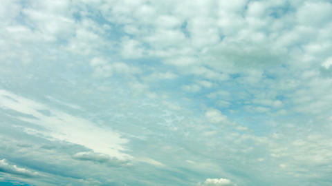 Altocumulus clouds in sky timelapse Footage