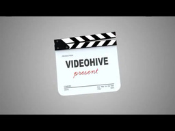 Film Logo Opener stock footage