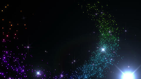 Particles Glitter 3 R 4 4k, Stock Animation