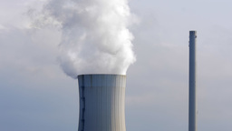 4K detail of a thermal power plant Footage