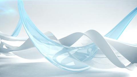 Abstract wave background. Loop Acción en vivo