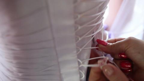 lace corset bride bridesmaid Live Action