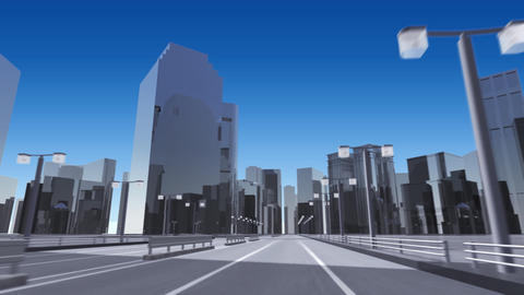 City 6A2 HD Animation