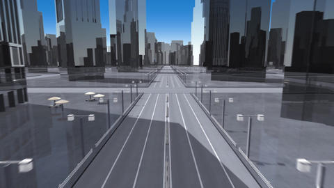 City 6BB HD Animation
