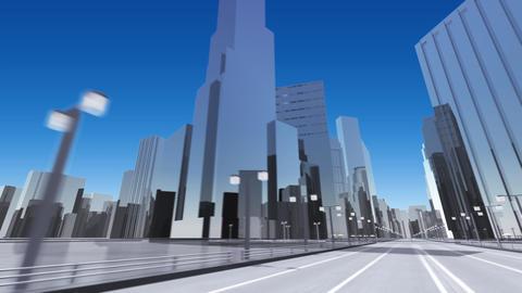 City 6F HD Stock Video Footage