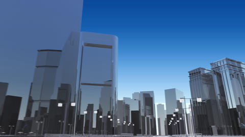 City 6J2 HD Stock Video Footage