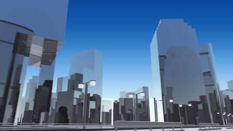 City 6J2 HD Animation