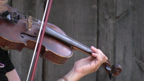 Violinist 1 Stock Video Footage