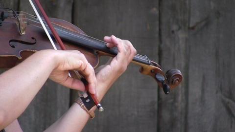 Violinist 1 Stock Video Footage