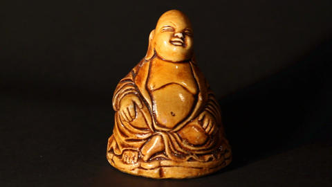 Buddha Statue ART 02 pan Footage