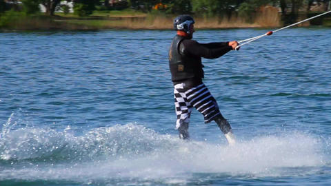 Wakeboard 03 3 in 1 Stock Video Footage