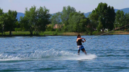 Wakeboard 07 Stock Video Footage