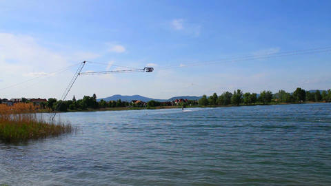 Wakeboard 09 Stock Video Footage