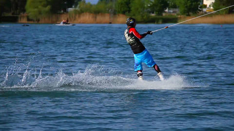 Wakeboard 13 2 in 1 Stock Video Footage