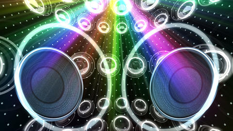Disco Space DSpC1 HD Stock Video Footage