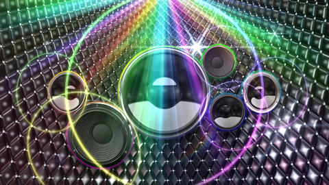 Disco Space DSpjC1 HD Stock Video Footage
